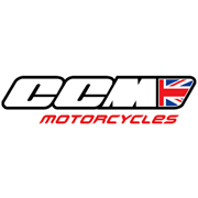 Logo of CCM Motorcycles
